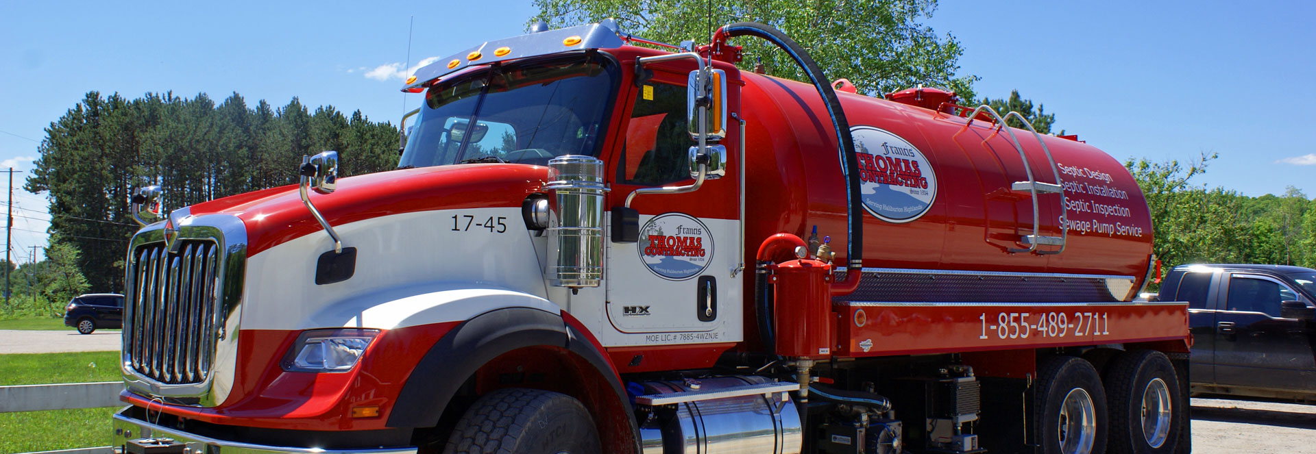 Image of our tanker truck