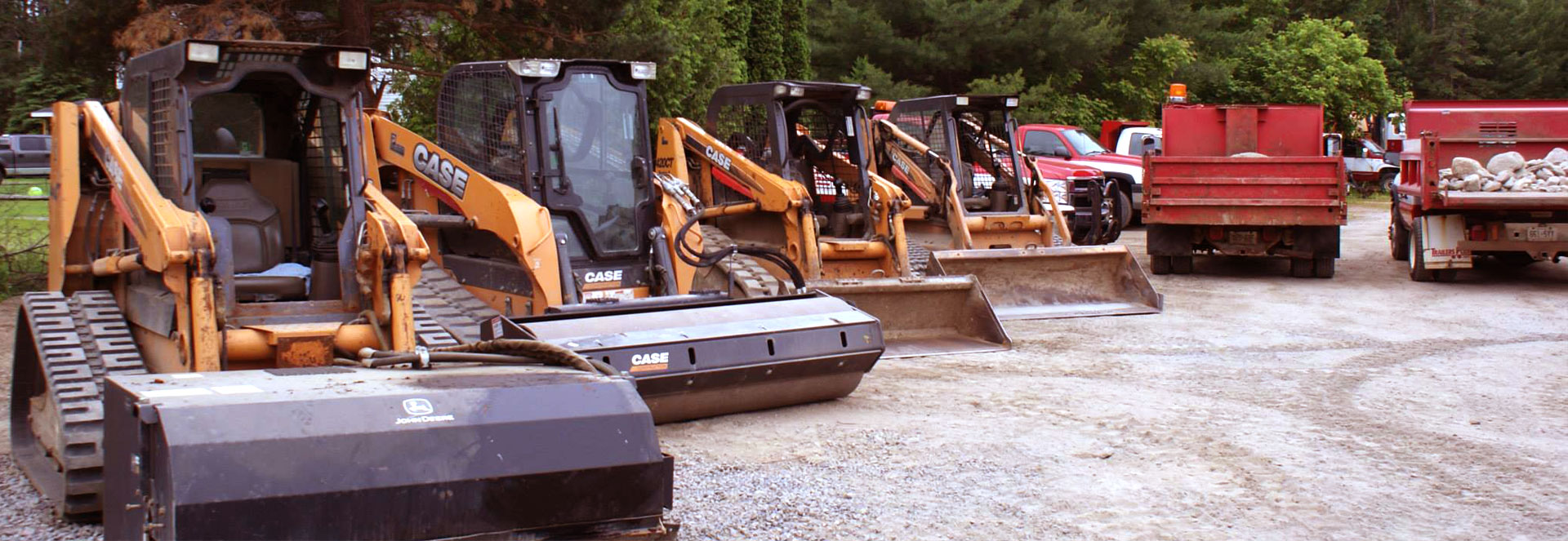 Our fleet of equipment